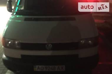 Volkswagen T4 (Transporter) пасс. 2001 в Ужгороде