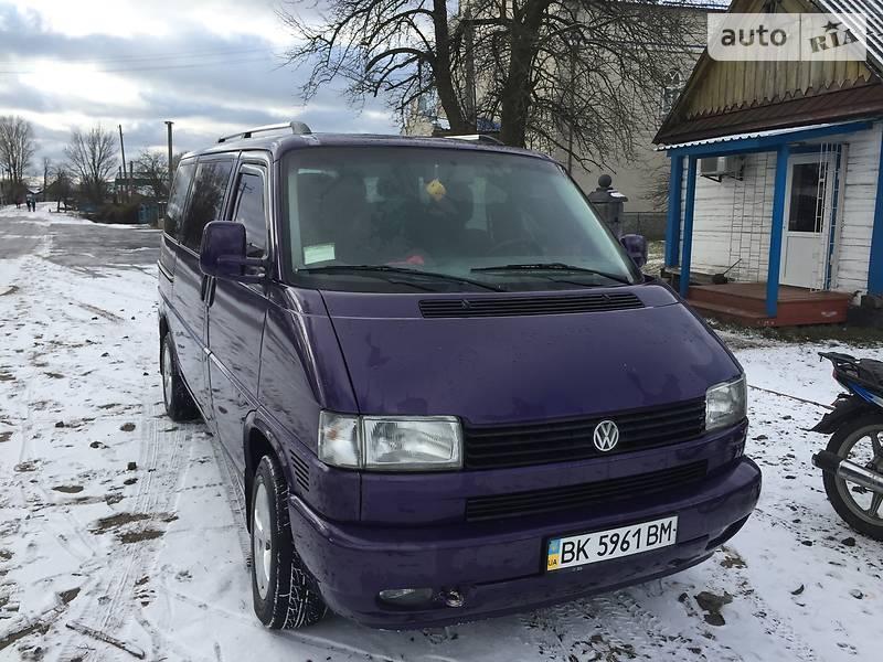 Volkswagen T4 (Transporter) пасс. 1999 в Рокитном