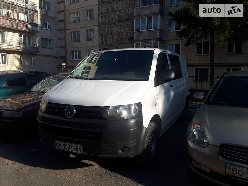 Легковой фургон (до 1,5 т) Volkswagen T5 (Transporter) груз-пасс. 2013 в Тернополе