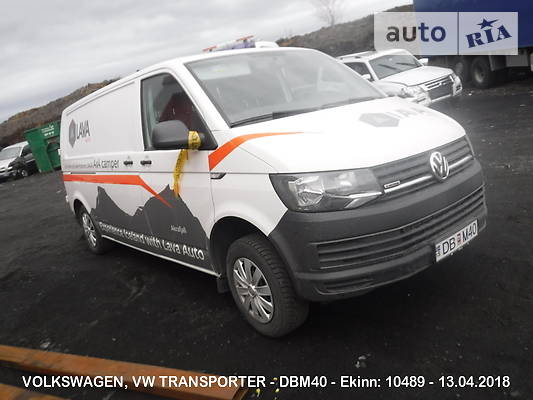 Volkswagen T6 (Transporter) груз 2017 в Днепре