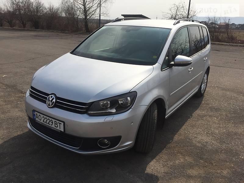 Volkswagen Touran 2013 в Хусті
