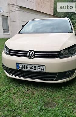 Мінівен Volkswagen Touran 2014 в Бердичеві