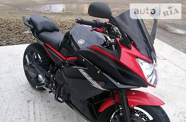 Мотоцикл Спорт-туризм Yamaha FZ6 Fazer 2015 в Энергодаре