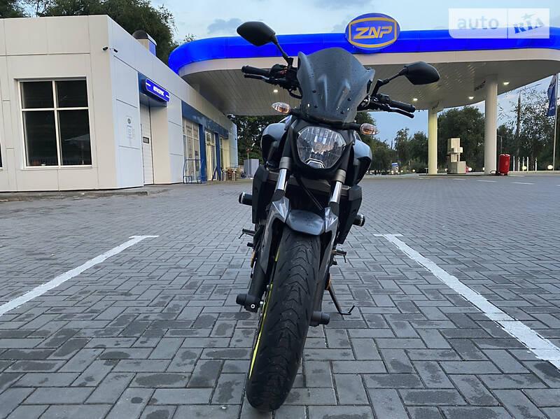 Yamaha MT-07 2017 в Запорожье