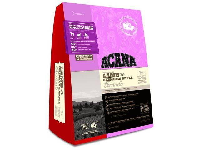 Acana (Акана) Adult Lamb and Okanagan Apple гипоаллергенный корм с ягнёнком и яблоком 13 kg- объявление о продаже  в Харькове