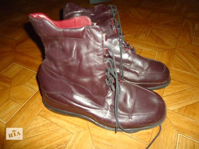 бу ботинки кожа р39 в Кривом Роге