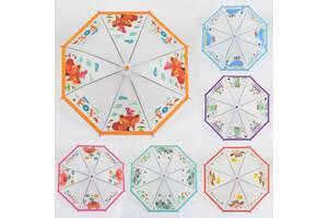 Зонтик детский 6 видов, диаметр 76 см SKL11-221446