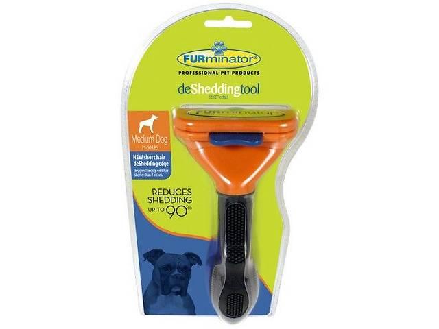 бу Расческа-триммер FURminator для короткошерстных собак 6.8 см (Mnb98hoi53) в Киеве