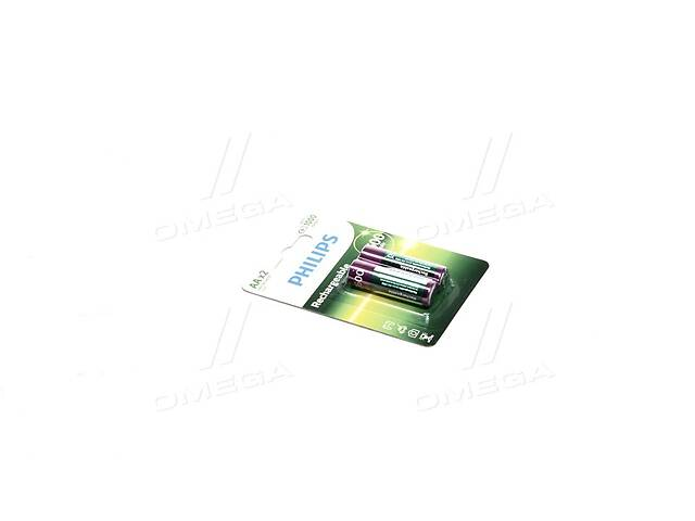 купить бу Аккумулятор R6/ AA MULTILIFE 2600 mAh Blister 2шт (пр-во Philips) в Харкові