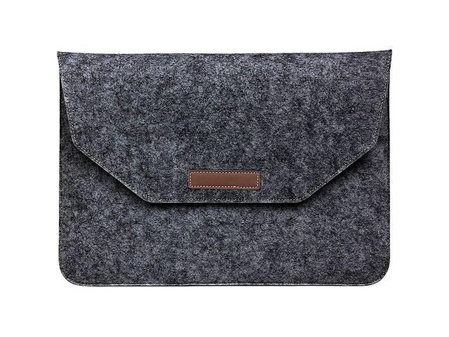 продам Чехол-карман из фетра для ноутбука 13 Black бу в Харькове