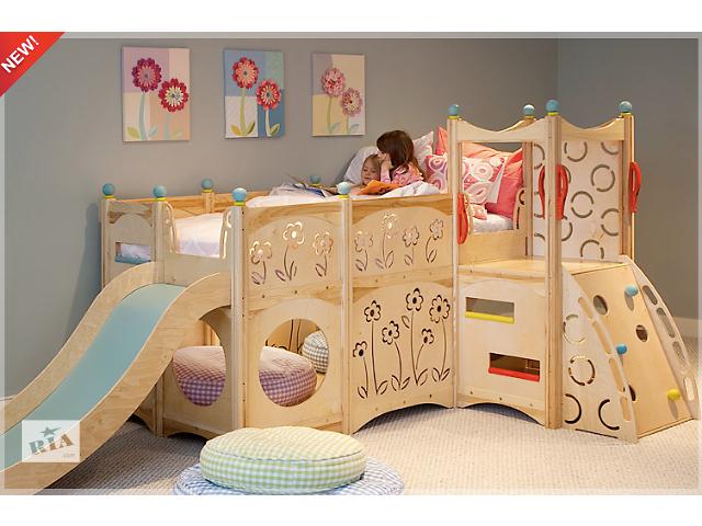 бу Акция! Эксклюзивная двухъярусная деревьянная кровать по оптовой цене в Киеве
