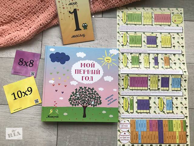 Альбом для новорожденных, детский фотоальбом малыша- объявление о продаже  в Киеве