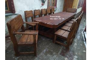 3-Х Метровый комплект мебели Под Старину ( стол, стулья, кресла )