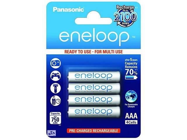 бу Аккумулятор Panasonic Eneloop 4 шт AAA 750 Mah (gr_004520) в Киеве