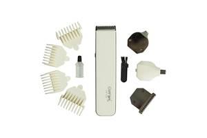 Универсальный мужской триммер для бороды усов носа и тела Gemei 586 4в1 машинка для стрижки