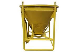 Бадья/бункер/тара/ящик для раствора и бетона 0.5 куба - 2.5 куба
