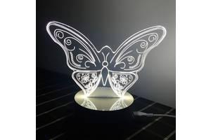 Butterfly Оптический обман, превращающий 2D светильник в 3D (md9037)