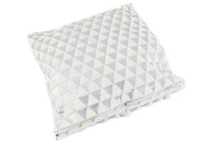 Декоративная наволочка TRAUM 5320-44 40х40 см белый серый