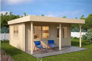 Дом деревянный из профилированного бруса 4х5. Кредитование строительства деревянных домов Тернопольская область