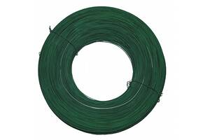 Проволока стальная из ПВХ диам. 2.5мм, зеленый