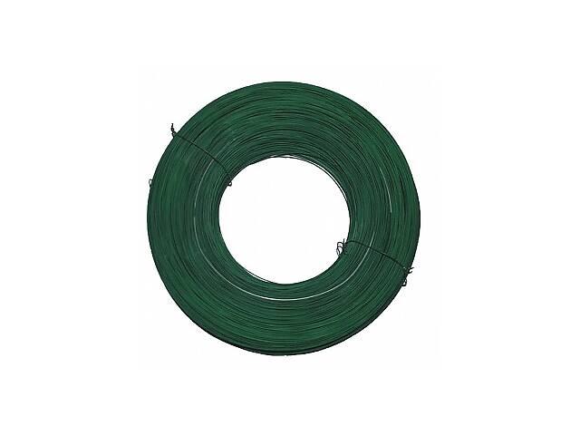 бу Проволока стальная из ПВХ диам. 2.5мм, зеленый в Львове