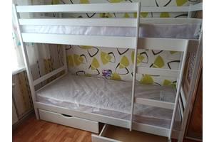 Двох'ярусне ліжко Скай з ящиками.