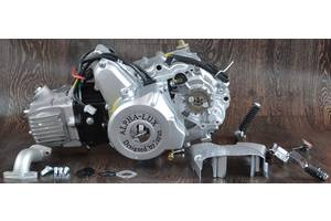 Двигатель на мопед Альфа Дельта 110 куб механика (21)