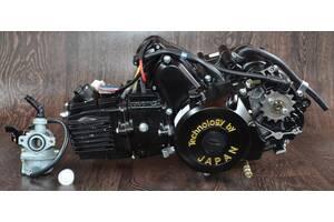 Двигатель на мопед Альфа Дельта 110 куб механика (21чк)