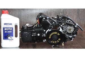 Двигатель на мопед Альфа Дельта 110 куб механика (21чм)