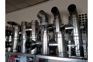 Дымоходная труба нержавеющая сталь оцинкованная утепленная и неутепленная наличие