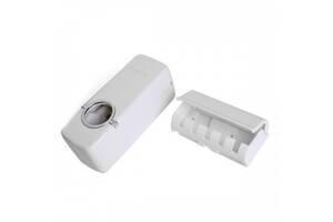 Диспенсер для зубной пасты и держатель зубных щеток Kronos Top R16395 (gr_005515)