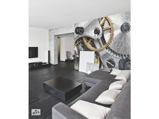 купить бу Дизайнерское панно HiTech Clockwork в интерьере гостиной 154 см х 185 см в Киеве