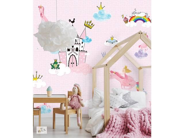купить бу Дизайнерское панно в детскую комнату для девочки Princess Castle 306 см х 280 см в Киеве
