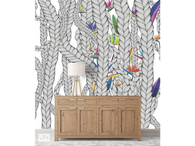 продам Обои плетение цветы дизайнерские в лоджию, холл, коридор Weave & Flowers 155 см х 250 см бу в Киеве