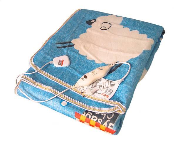 продам Электропростынь Electric blanket 5733 145х115 см, голубая с рисунком бу в Харькове