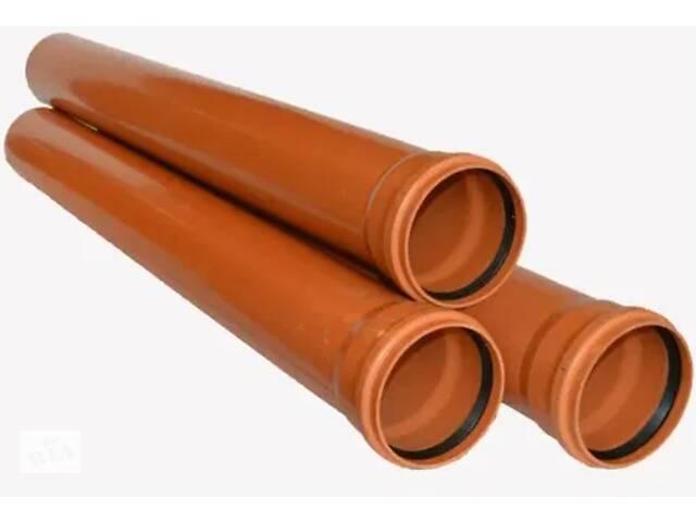 Канализационные пластиковые трубы ПВХ, SN 2 купить для канализации- объявление о продаже  в Одессе