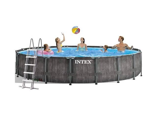 Каркасный бассейн Intex 26744 c эффектом мозаики 549х122 см (int_26744)- объявление о продаже  в Одессе