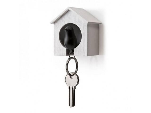 продам Ключница настенная с брелком для ключей 6,8х7,3х4,5 см. черно-белая Таиланд 115137 бу в Киеве