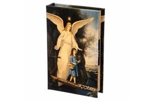 Книга сейф с кодовым замком Ангел 26 см