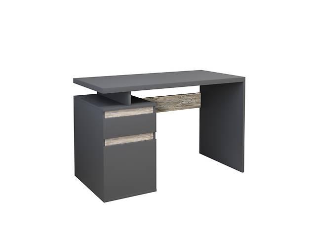 продам Комп'ютерний стіл Інтарсіо Kubik 1200х776 мм Антрацит + дуб клондайк (KUBIK_L) бу в Одессе