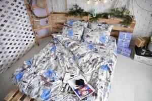 Комплект постільної білизни Brettani 2-х Спальний 180 х 220 см (10021)