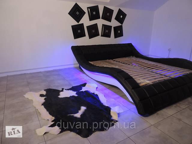 Кожаная кровать- объявление о продаже  в Львове