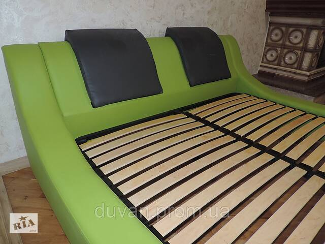 купить бу Кожаная мягкая  кровать с подъемным механизмом Mojito в Львове