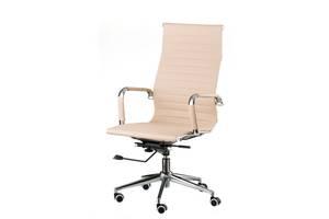 Кресло офисное Special4You Solano Artlеathеr Bеigе (E1533)