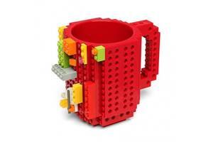 Кружка Lego брендовая 350мл Red