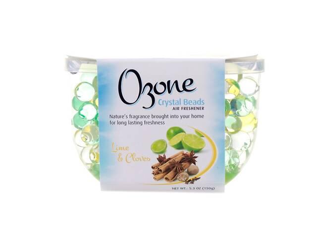 продам Кристаллический освежитель для воздуха Ozone Crystal Beads Лайм и Гвоздика, 150 г бу в Киеве
