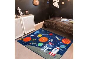 Килимок для дитячої кімнати Місія Аполлон 100 х 130 см Berni Home