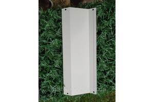Ламели для забора металлический Жалюзи 112мм цвет 9003 белый глянец двухсторонний 0,45 Корея
