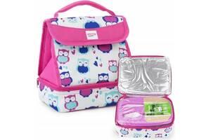 Ланчбокс термосумка Spokey Lunch Box Pink 9 л розовая