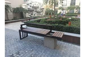 Лавочка уличная  скамья садовая парковая Юджин